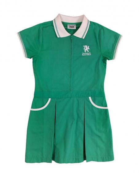 Girls Summer Poplin Dress -...