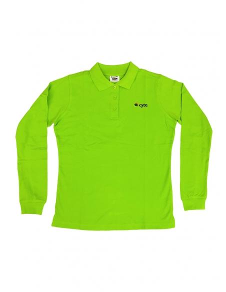 Ladies Polo Shirt Long...
